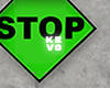 Green Stop Sign