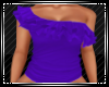 Purple Frill Top