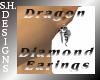 Dragon Diamond Earrings
