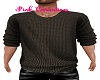 Knit Sweater Brown