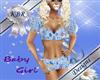 Baby Girl HK Blue