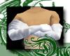 d White Ice Satin Gloves