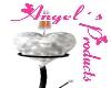 ~Angel~ W Heart Candlel