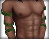 Green Leaf Arm Bands