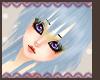 Blue Orika hair