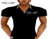 D/X Black Striped Collar
