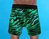 Tiger Stripe PJ Shorts M