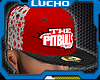 Pitbull Cap Red/White