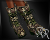 AR* Military Boots Green