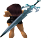 AC*Lightning Sword teal