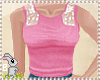!B! Pink Lace Top