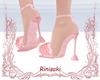 Spring LaceFur Heels
