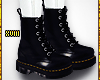 ! Black Leather Boots
