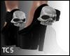 Skull & rose heels