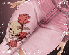 Skull Rose Jeans M