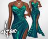 Evening Gown ~ Green 4