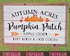 Pumpkin Patch Sign