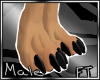 (M)Blk Anthro Feet 2[FT]