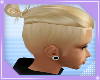 man bun blonde