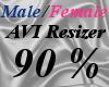 Male/Fem AVI Scaler 90%