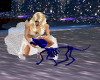 Blue Skeleton Dog