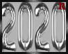 2020 Balloon Silver