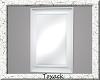 white floor mirror.