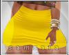 *XL Yellow Skirt