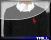 Polo Sweater.