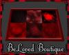 [ZKB] red&black rug