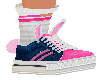 Blue & Pink Bunny shoe
