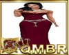 QMBR Gown Simply Dp Rose