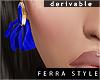 ~F~DRV Isolde Earrings
