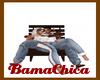 [bp] Couple Chair Brown