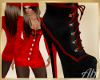Winter boots red
