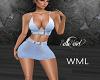 Blue Club Dress -WML