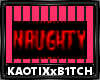 Naughty Badge