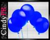 *CPR Blue Royal Balloons
