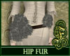 Hip Fur Gray