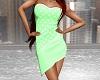 Spotted Dress - Mint