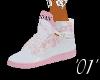 *01* AIR JORDAN pink/wht