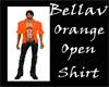 BV Orange Open Shirt