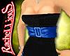 `Blue Waist Belt