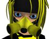 Black Yellow Respirator