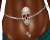 Skull Belly Chain