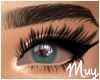 m. Irritated blue eyes