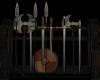 Medieval Weapons Rack