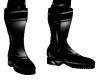 combat boots pvc
