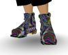 Rainbow Rave Boots