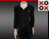 Suit with White Ascot
